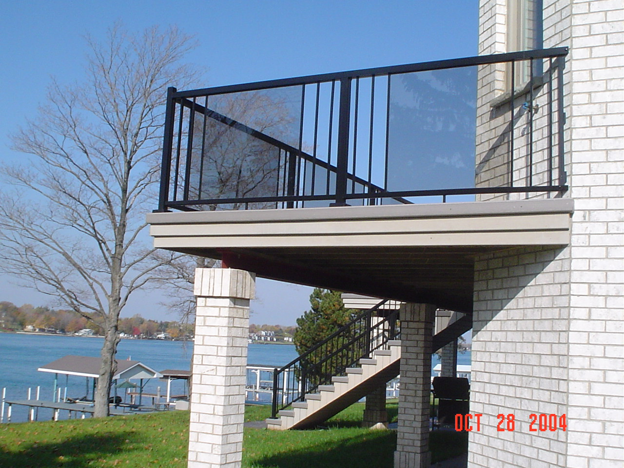 Aluminium Amp Deck Railings Kitchener Waterloo Home