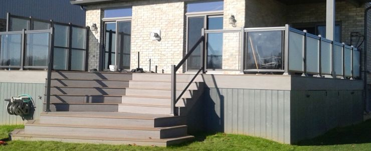 Aluminium Amp Deck Railings Kitchener Waterloo Aluminum